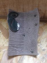 Repose cuillères avec décoration en forme de chat