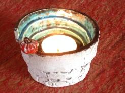 Porte bougies : ambiance de Noël