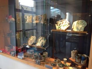 Pièces exposées à l'Office du Tourisme de Niederbronn-Les-Bains du 29/07 au 11/09/2016
