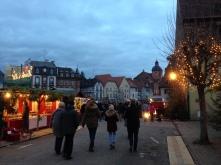 Ambiance du marché de Noël de Wissembourg
