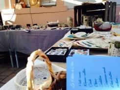 Photo de mon stand à Niederbronn-Les-Bains en juillet 2015