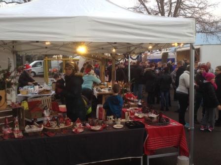 Mon stand au marché de Noël de Pfaffenhofen