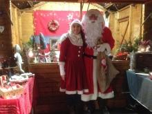 Le Père Noël s'invite sur mon stand