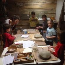Les pièces sont en cours de fabrication par les enfants