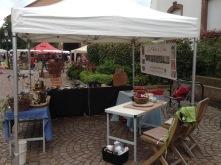 Mon stand à Haguenau devant l'Hôtel de Ville
