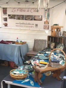 Mon stand à la nuit artisanale 2017 à Niederbronn-Les-bains