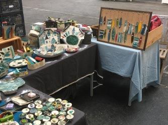 Mes pièces exposées au marché de Souffleheim