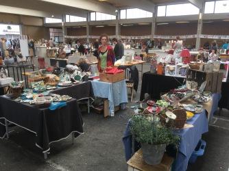 Mon stand au marché des potiers de Soufflenheim