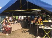 Ambiance du marché des potiers de Guewenheim