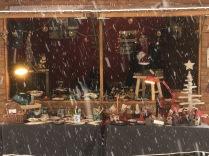 La neige s'est invitée à la fête