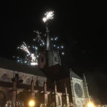 Noël à Wissembourg - Ambiance sympa Feu d'artifice