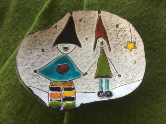"Coupelle ""Lutin"" de Noël"