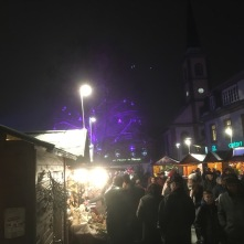 Niederbronn-Les-Bains - Ambiance du marché de Noël 2018