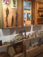 Mes pièces exposées à la Kukuk's Galerie