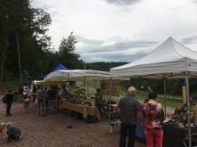 Marché des artisans à la chèvrerie du Windstein