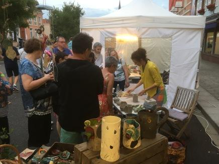 Démonstration - nuit artisanale Niederbronn-Les-Bains 2019