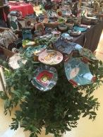 Fleurs décoratives - marché des potiers de Soufflenheim 2019