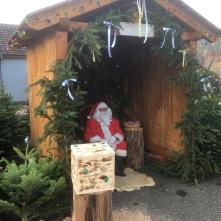 Père Noël au marché de Noël de Philippsbourg 2019
