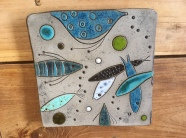 Dessous de plat - thème de la mer