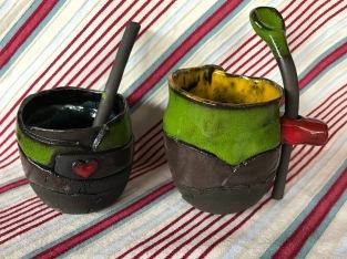 Tasses avec sa cuillère