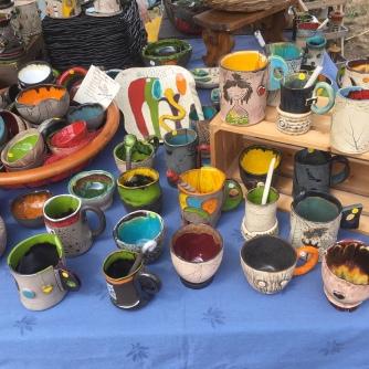 Pièces exposées au marché de l'Artisanat et du Terroir de Philippsbourg 2020