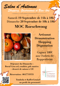 Affiche salon d'Automne de Roeschwoog